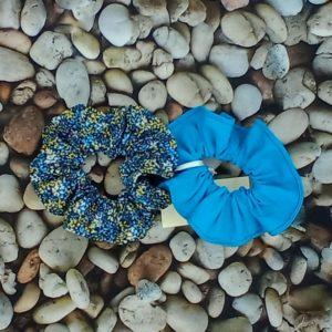 lot 2 chouchous bleu 503 Marraine la Fée