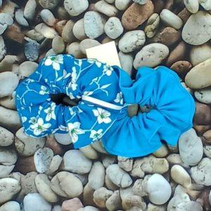 lot 2 chouchous bleus 281 Marraine la Fée