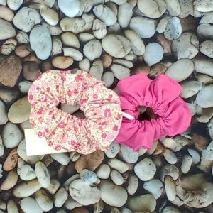 lot 2 chouchous roses 445 Marraine la Fée